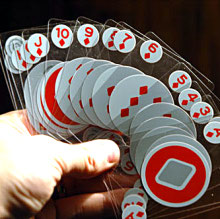 Invisible playing cards have unseen benefits
