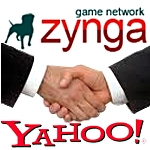 Zynga signs new games deal with Yahoo