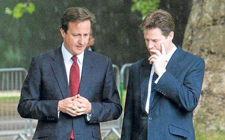 Labour leader betting out, Cameron and Clegg outed