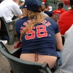 She'll suck anything BoSox related