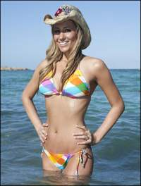 Vanessa Rousso in bikini