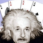 Beware the physicist at your poker table