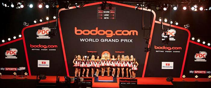 Bodog World Grand Prix stage