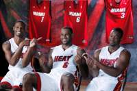 chris bosh lebron james dwyane wade