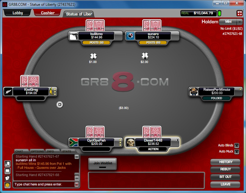 Poker site isn't that GR88 after all