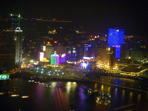 Macau revenues increase yet again