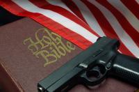Gun Bible US Flag