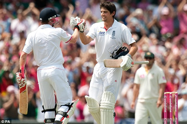 Alastair Cook stakes claim for Man of the Series