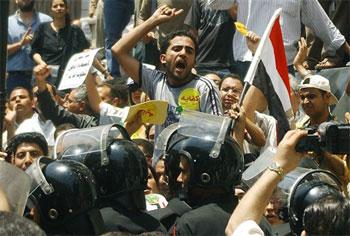 Egypt on Internet lockdown