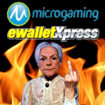 Microgaming Android poker; eWalletXpress statement; granny gambles with fire