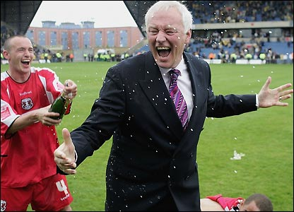 Barry Hearn welcomes Arsenal this Sunday