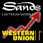 Singapore, Macau boost Las Vegas Sands; DoJ boosts Western Union?