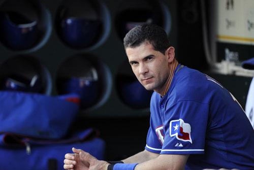 Michael Young tired of being dissed by Rangers