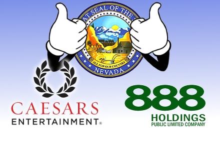 Nevada okays Caesars-888 link, debates poker bill; Hawaii bill passes committee