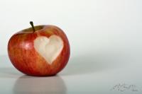 Apple has a heart