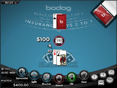 Bodog deals billionth blackjack hand