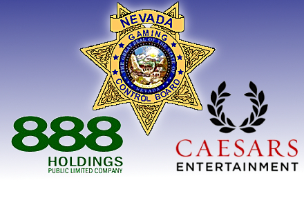 Caesars, 888 Holdings relationship approved by Nevada Gaming Control Board