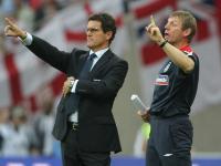 Fabio Capello leads England into Cardiff