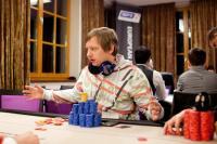 EPT Snowfest chip leader Kevin Vandersmissen