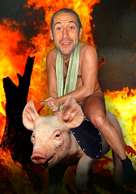 A Riding Pig Hell