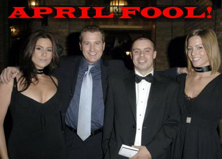 APRIL FOOL! Gambling, drinking and carrying on resumes at CalvinAyre.com