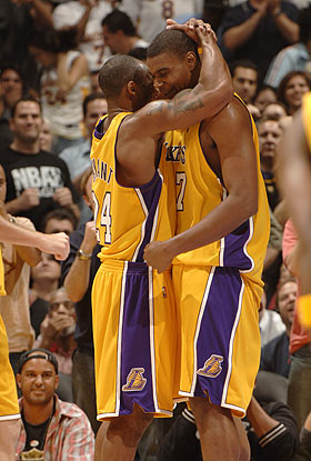 Lake Show roll in game 2 in spite of Kobe and Pau no show