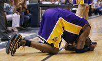 Kobe Bryant is hurt in NBA playoff