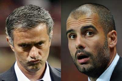 Image result for mourinho vs guardiola