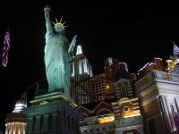 Statue of Liberty in Las Vegas casino business