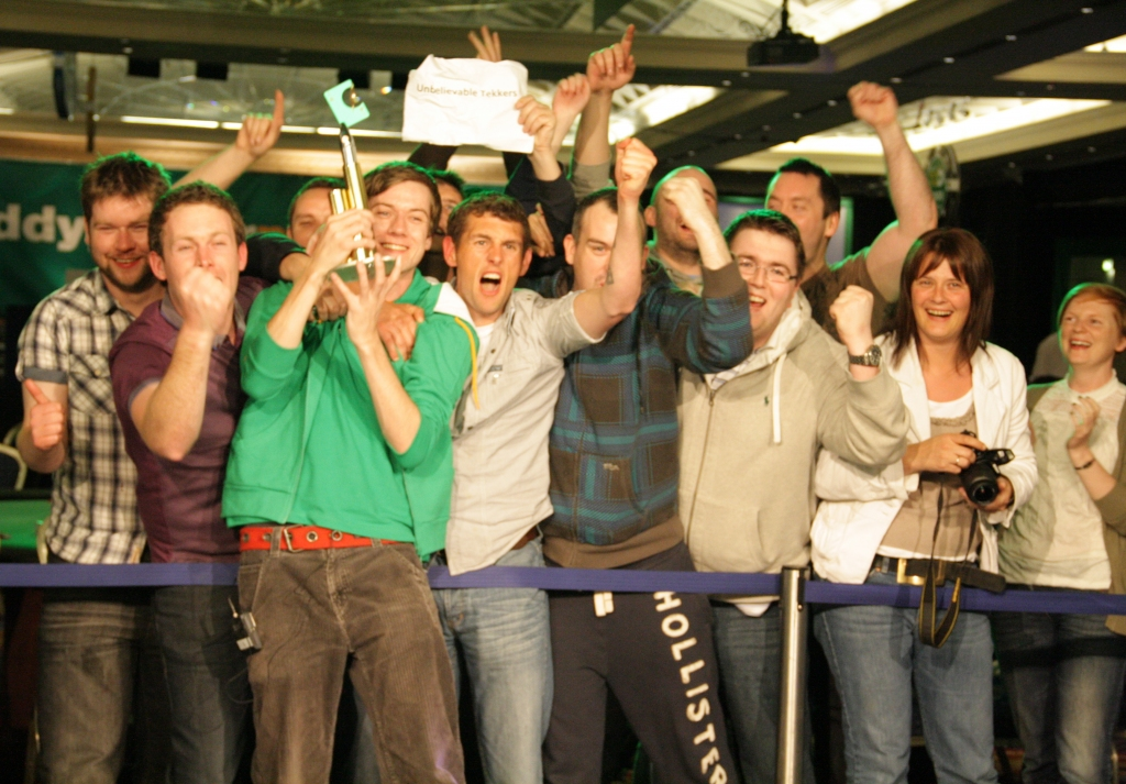 Niall Smyth winner of the 2011 Irish Open