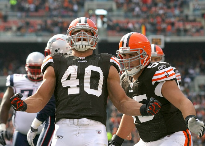 Peyton Hillis owns Madden 12 cover
