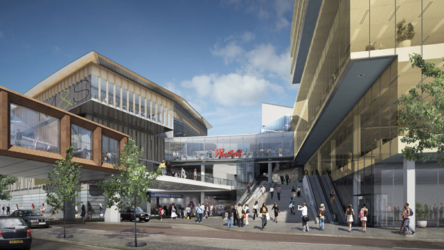 Westfield Stratford is the site of the casino