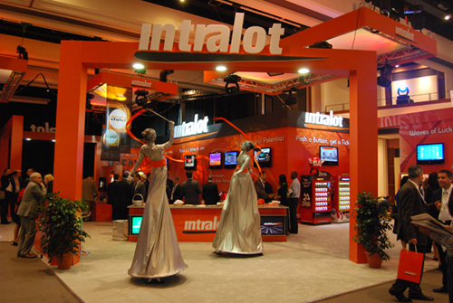 Intralot booth