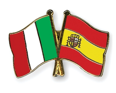 Italy and Spain