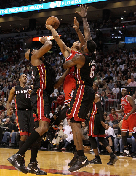 Heat eliminate Bulls in five