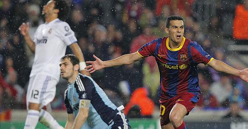 Pedro scores