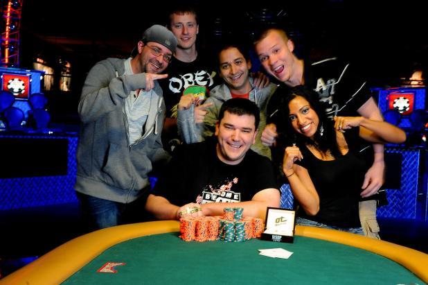 WSOP bracelet winner Aaron Steury