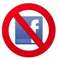 ban facebook