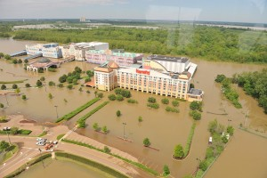 Oil spills and floods hurting Mississippi casinos