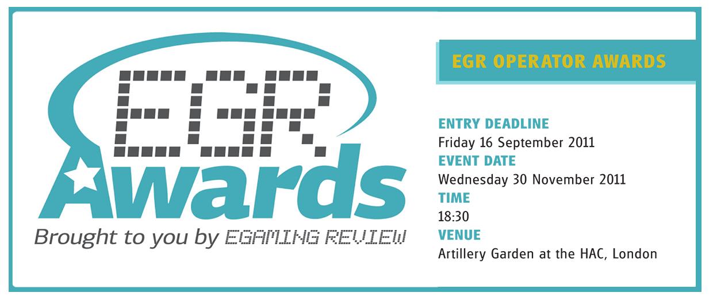 eGR  Operator Awards 2011