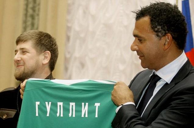 Ruud Gullit signs for Terek Grozny