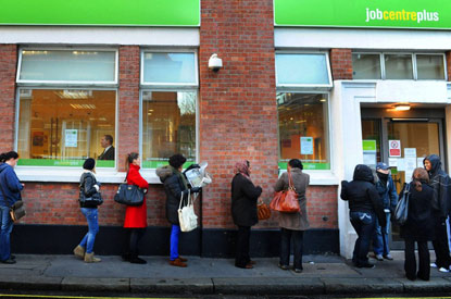 Job centre queue