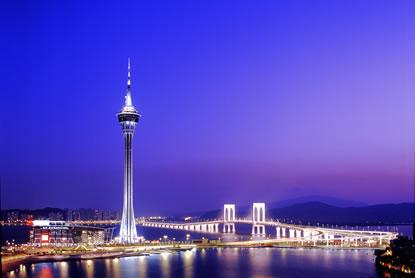 Macau visitors increase