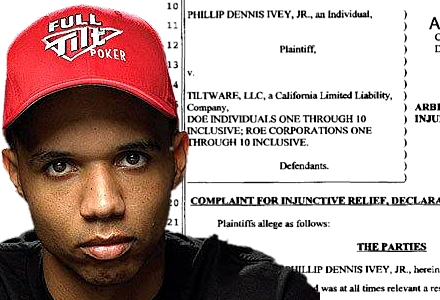 Phil Ivey Full Tilt suit names Tiltware, seeks $150m in damages