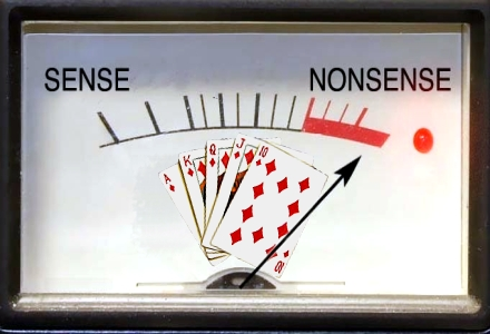 """Why the phrase """"Poker is a Game of Skill"""" is nonsensical"""