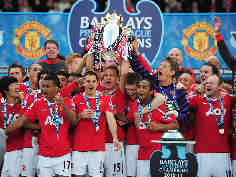 Premier League champions Manchester United