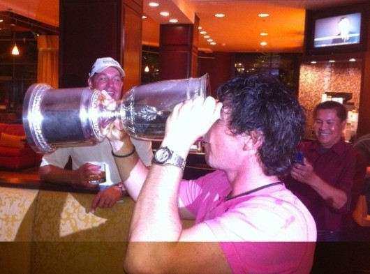 Rory McIlroy: drinking, carrying on and winning