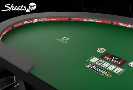 Take a sheet at the World Series of Poker!