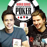 WSOP Bracelet winners, Darren Woods and Foster Hays