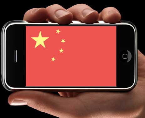China app store users grow by 250 per cent; Mobile subscribers to hit one billion